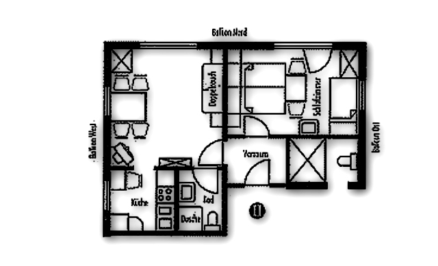 Layout Apartment II